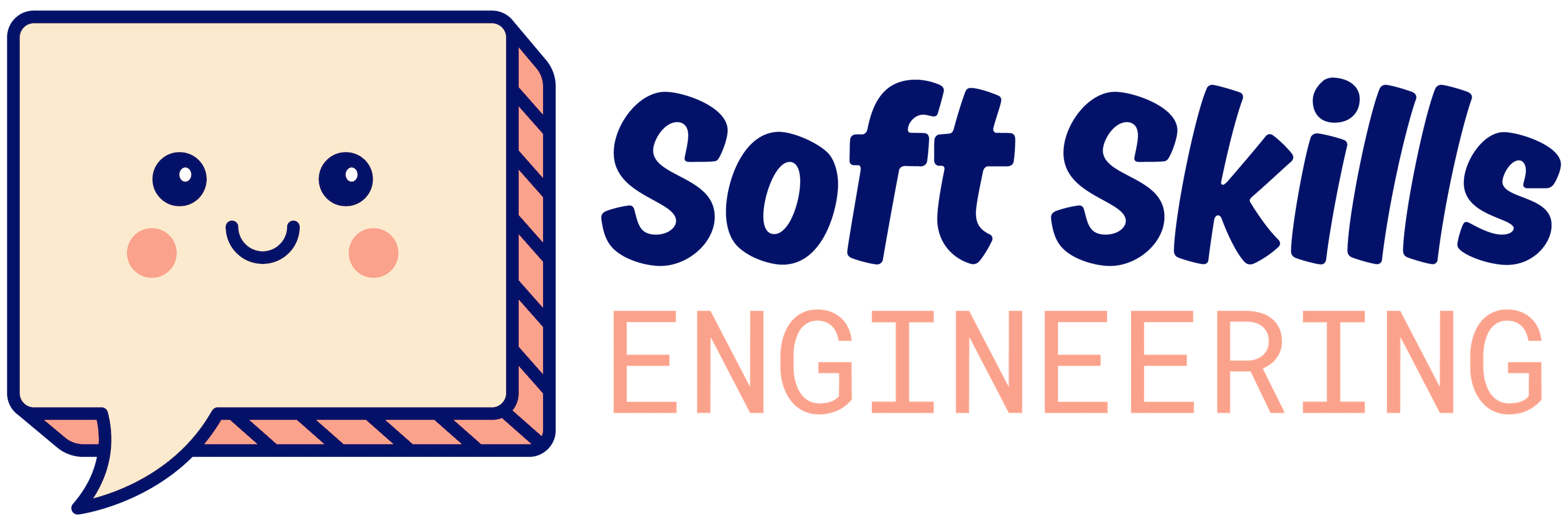 Soft Skills Engineering logo with a friendly speech bubble